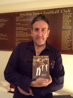 Terry Hall with his copy of Too Much Too Young